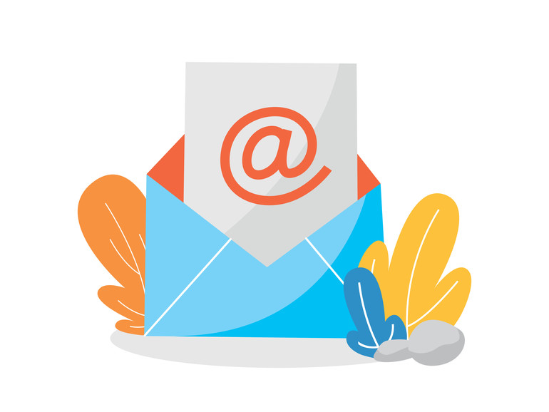 Email or mail concept